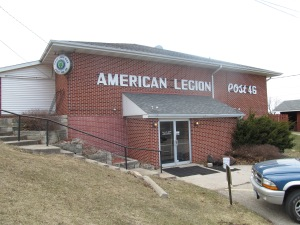 American Legion Building in Marshalltown, IA